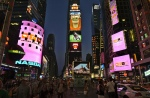 NASDAQ and Reuters Image Boards in Times Square
