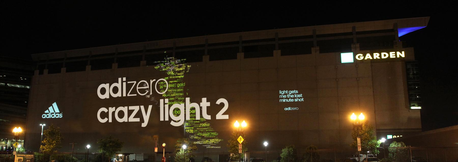 "adidas Projections ""Light You Up"" | Posterscope USA Portfolio"